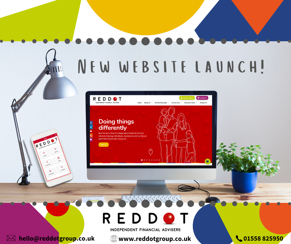 OUR NEW WEBSITE LAUNCH!