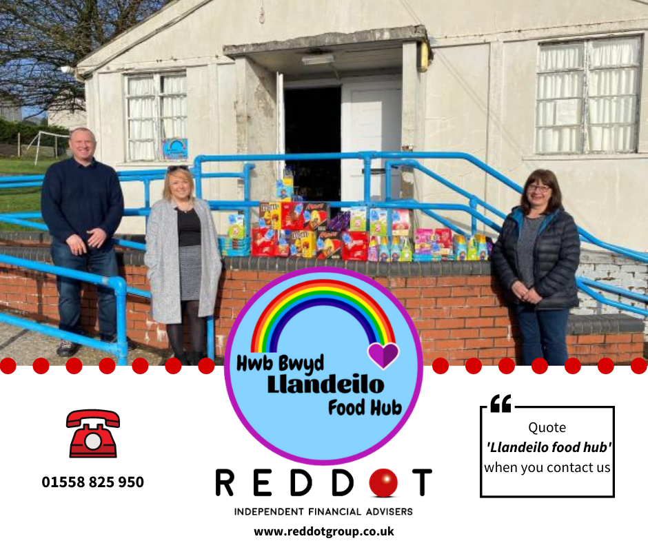 Supporting our local food hub at Llandeilo through Red Dot Rewards